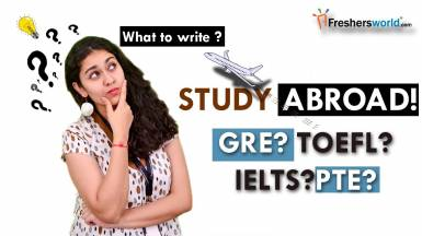 How to Prepare for GRE,TOEFL/IELTS