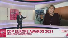 Merkel calls for 'fundamental rethink' at CDP Europe Awards 2021